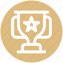 best, cup, seo, star, star trophy, trophy, winner cup icon
