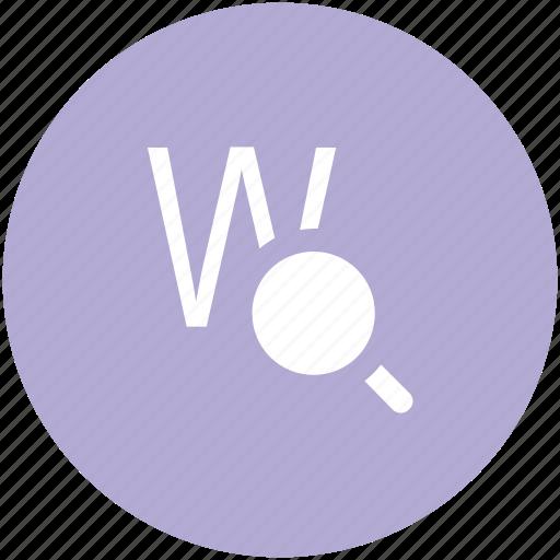 domain, domain search, optimization, search engine, sem, seo, web search icon
