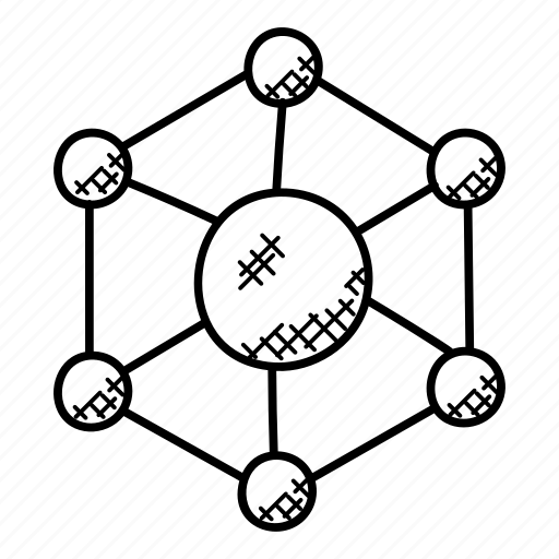 connection, hierarchy, links, networking, topology icon