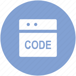 code optimization, development code, html coding, php code, web coding, web language icon