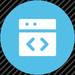 div, div tag, html coding, html language, html tag, web coding icon