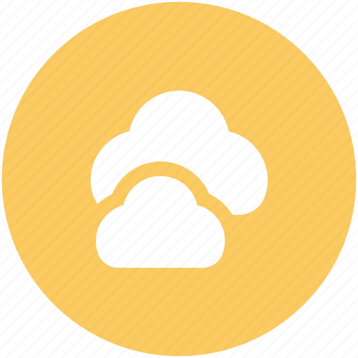 cloud, cloud computing, clouds, forecast, icloud, sky cloud, weather icon