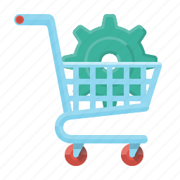 commerce, e-commerce, ecommerce, optimization, seo, shop, trolley icon