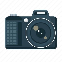 camera, gallery, multimedia, photo, photo gallery, photography, video icon
