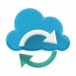 cloud, connection, refresh, reload, seo, sync, update icon