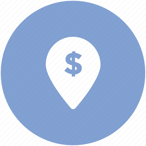 bank location, investment location, location marker, location pointer, map locator, map pin, navigation icon