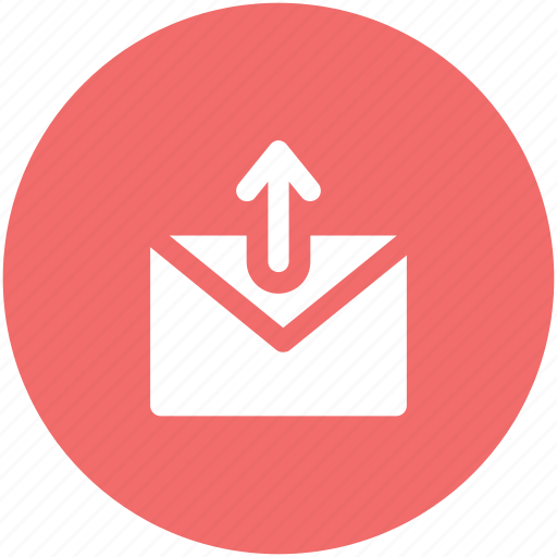 email, envelop, letter, mail, outbox, outbox mail, outgoing icon