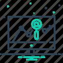 analysis, app, diagram, report, traffic, traffic analysis, website icon