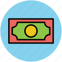 bank note, cash, currency, currency note, money, paper money icon
