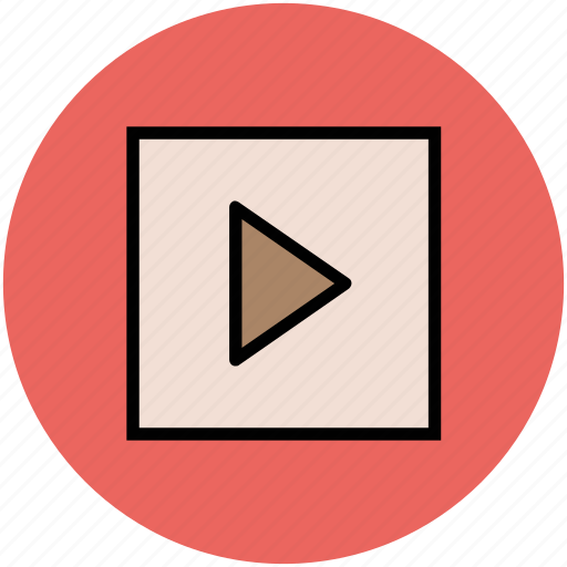 media player, multimedia, pause, video, video player icon