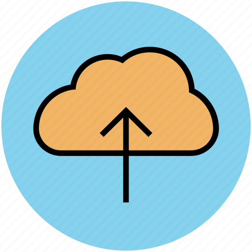 cloud upload, cloud uploading, data transmission, icloud, transfer data icon