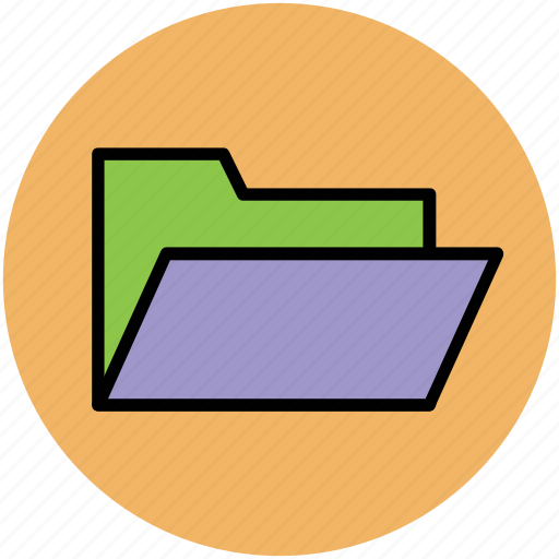 computer folder, data storage, documents, folder, folder file icon