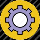 cog, cogwheel, gear, gearwheel, options, settings icon