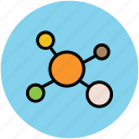 database, network, networking, share, social interface, social network icon