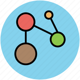 connection, mesh, network, network node, network topology, web, web mesh icon