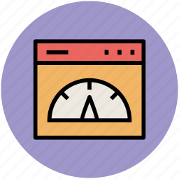 speed, speed test, web optimization, web speed test, website, window page icon