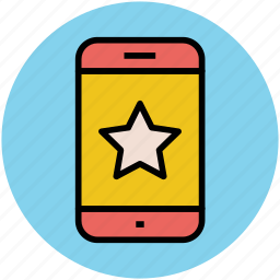 bookmark, favorite, like, mobile, mobile ranking, ranking star, star icon