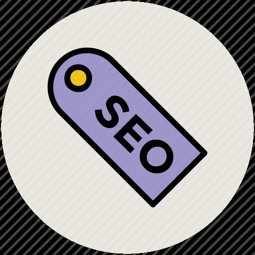label, search engine optimization, seo tag, tag icon