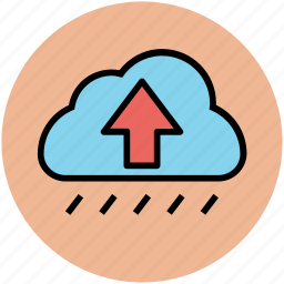cloud and upload signs, cloud computing, cloud network, cloud upload, cloud uploading icon