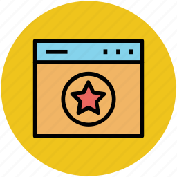 favorite, star ranking, web page, webpage quality, website ranking icon