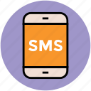 mobile chatting, short message, sms, sms box icon