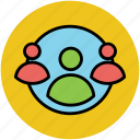 communication, discussion, group, people, personal relation, team icon