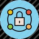 lock, locked, password, safety, security, ssl, ssl sing icon