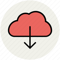 cloud computing, cloud download, cloud downloading, cloud network, storage cloud icon