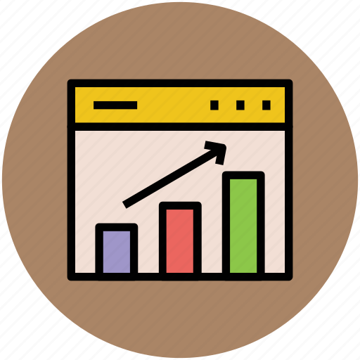 bar chart, business chart, chart, diagram, graph, progress chart icon