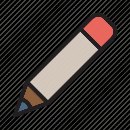 design, edit, pencil, stationary, write icon