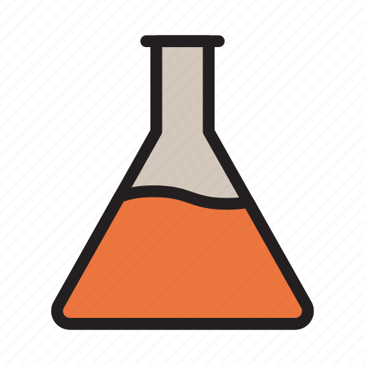 experiment, flask, lab, medical, science icon