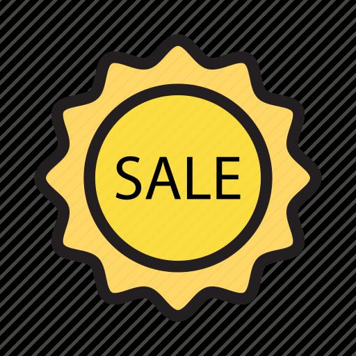 badge, label, sale, sticker, tag icon