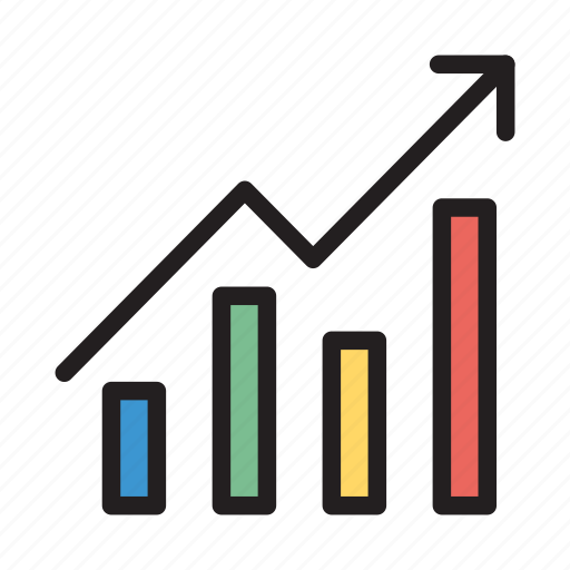 chart, finance, graph, growth, statistic icon