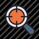 achievement, aim, focus, goal, target