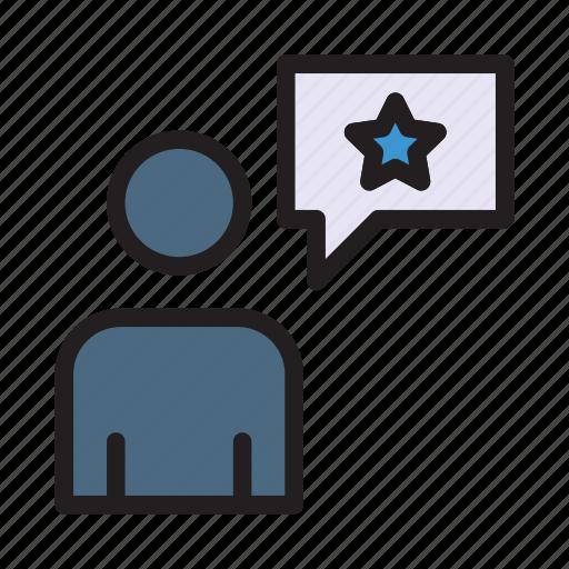 avatar, employee, rank, star, user icon