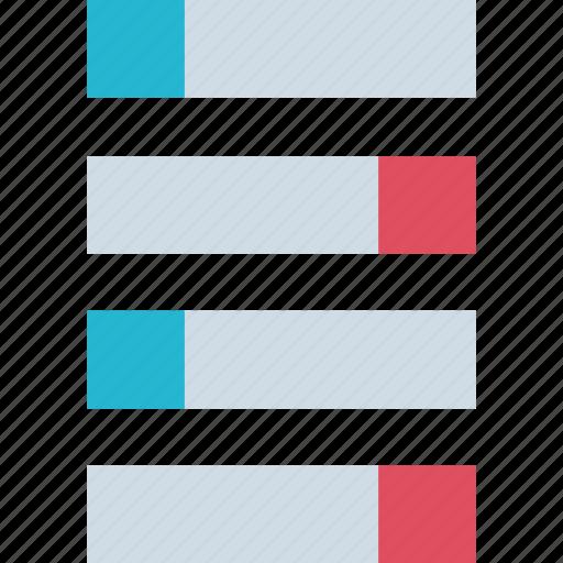 bars, data, web icon