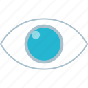 eye, view, watch icon