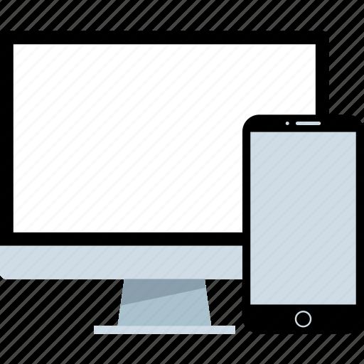 design, mobile, responsive icon