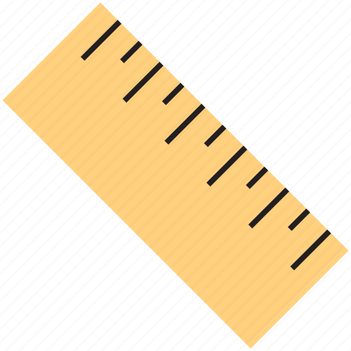 design, measure, ruler icon