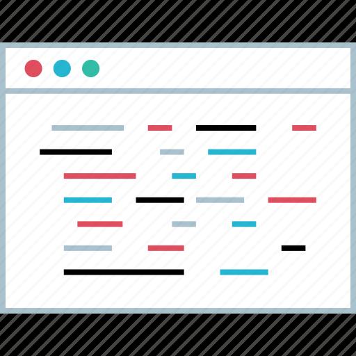 analytics, data, graphic, web icon