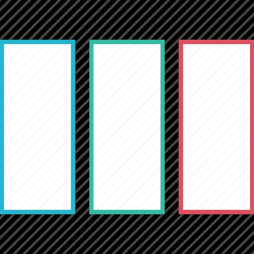 bars, data, design, web icon