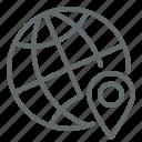 geo, global, internet, location, pin point, targetting, web