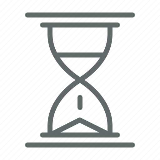 hourglass, management, office, sand, time, timer icon