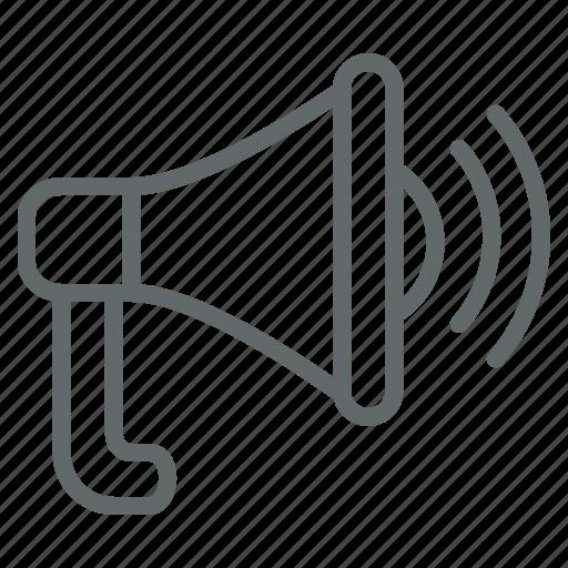 customer, internet, marketing, megaphone, seo, viral, web icon