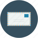 air mail, air mail envelope, envelope, letter icon