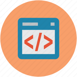 code optimization, html coding, html language, html tag icon