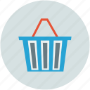 basket, cart, shopping, shopping basket icon