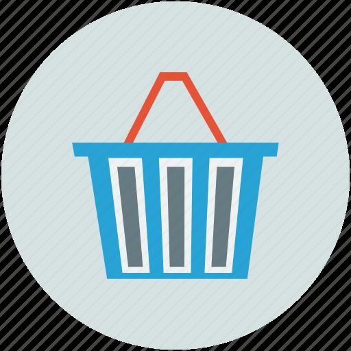 basket, cart, shopping, shopping basket icon