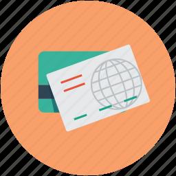 credit cards, debit cards, visa, world credit cards icon