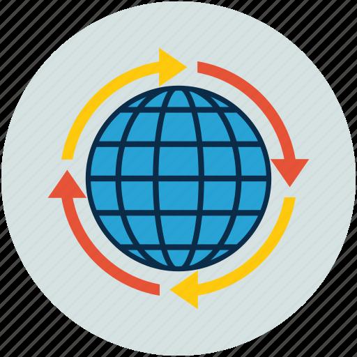 global, global solutions, globe icon
